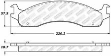 Disc Brake Pad Set-4WD Front Stoptech 305.06550