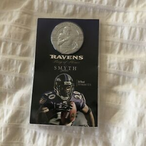 Baltimore Ravens Ring of Honor ED REED Smyth Jewelers Coin