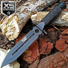"8"" JTEC SURVIVAL Bowie Tactical Fixed Blade Hunting Knife w/ SURVIVOR KIT - JV80"