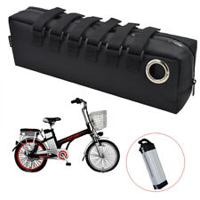 Electric Bike Battery Bag Case Bicycle Storage Protection Silverfish Waterproof