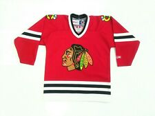 Vtg Chicago Blackhawks CCM Child One Size Fits Most Enfant  Jersey NHL Hockey