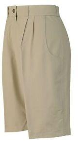 Wilderness Wear Ladies Microlite UPF 50+ Shorts Color Bone M835 NEW