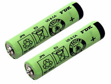 2x AAA Battery Cells For Braun Silk & Soft LS 5560 and LS 5500 Ladyshaver | type 532