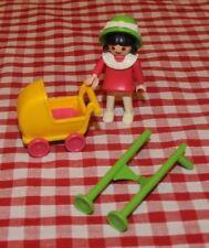 Mansión victoriana Playmobil Set 5403 niña con zancos & Cochecito-incompleto