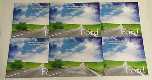 Generic Service History Book Suitable For Escort, Fiesta, Mondeo, Focus