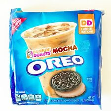 NEW Nabisco Oreo Dunkin' Donuts Mocha Limited Edition Cookies FREE SHIPPING