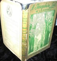 A SHROPSHIRE LAD (1932)  AE Housman-Cameo Classics Edition-Illustrated vintage