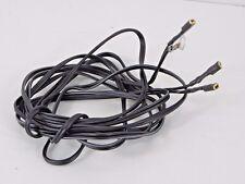 Lichtkabel Fahrradkabel 2 adrig mit Stecker 220 cm 2 Farben Licht Kabel  01901