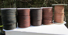 Top Quality  Soft Antique Matte, Goats Leather Cord 2mm