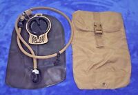 *NEW* USMC Coyote ILBE FILBE Hydration Pouch Eagle Ind & 3L Camelbak Bladder Tan
