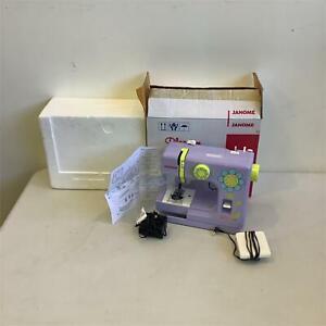 Janome  Blossom Sewing Machine complete in Original box #908