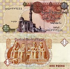 EGYPT 1 Pound Banknote World Paper Money UNC Currency Pick p50i 2004 Bill Note