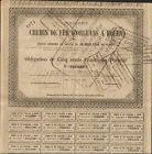 Chemin de Fer d'ORLEANS à ROUEN 1871 (N)