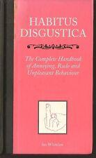Habitus Disgustica Book Encyclopedia of Annoying Rude Gross Behavior HB Comedy