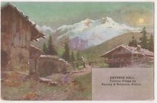 Tyrolian Village Austrian Exhibition Earls Court 1906 Art Postcard, B724