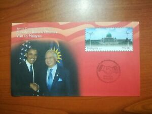 U.S. President Barack Obama's Visit to Malaysia 2014 FDC Commemorative Cover
