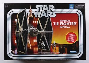 STAR WARS NEW THE VINTAGE COLLECTION NON MINT IMPERIAL TIE FIGHTER + PILOT MISB