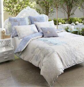 Bed Doona Duvet Quilt Cover Set King 100% Cotton Original Price $89