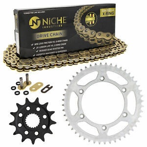 Sprocket Chain Set for Yamaha YZ125 YZ250F 13/48 Tooth 520 X-Ring Front Rear Kit