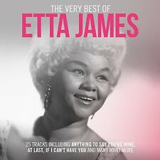 CD VERY BEST OF ETTA JAMES AT LAST IF I CAN'T HAVE YOU MY DEAREST DARLING etc