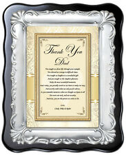 Father Personalize Gift from Bride Birthday Thank You Dad In Law Daughter Poem