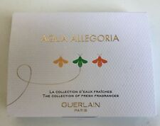 3 Guerlain Aqua Allegoria Samples-Mandarine Basilic/limon Verde/pamplelune 0.7ml
