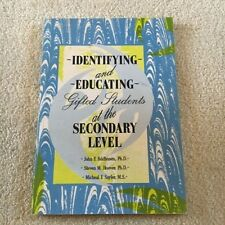 JOHN F. FELDHUSEN. INDENTIFYING AND EDUCATING GIFTED STUDENTS, SECONDARY LEVEL