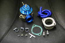 BLUE JDM/ USDM TYPE-RS BOV 30PSI ADJUSTABLE TURBO BOOST RACING BLOW OFF VALVE