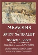 GEORGE LODGE FALCONRY BOOK MEMOIRS OF AN ARTIST NATURALIST NEW EDITION hardback