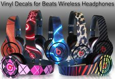 Choose Any 1 Vinyl Skin for Monster Beats Wireless by Dr. Dre - Free US Shipping