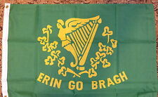 Irish Erin Go Brash Flag 2x3 Ireland Republican Eire 1916 Easter Celtic Bhoys bn