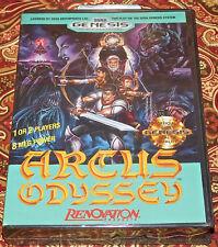 Arcus Odyssey Sega Genesis 1991 Precinto de Fábrica Juego Nuevo Muy Rara! sin S
