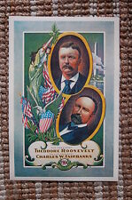 Theodore Roosevelt For President campaign poster 1904