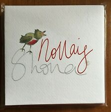Nollaig Shona / Happy Christmas - Pack of 6 Cards Notelets as Gaeilge / in Irish