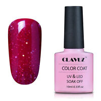 CLAVUZ Gel Semi Permanent UV LED Vernis à Ongles Gel Soakoff Nail Polish 10ml
