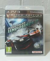 RIDGE RACER UNBOUNDED - PS3 PLAYSTATION 3 GAME COMPLETE