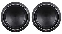 "2) Rockford Fosgate Punch P1S2-10 P1S210 10"" 1000 Watt 2-Ohm Car Subwoofers/Subs"