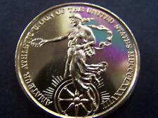 1967 AAU 80th NATIONAL CONVENTION Gold Aluminum Mardi Gras Doubloon