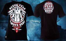 Mafia & Crime Shirt 428 Never fear black schwarz Herren Gr. 3XL