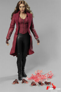 1/6 Fire Toys A029 The Avengers Scarlet Witch Wanda 3.0 Battle Ver Figure