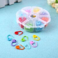 8 Colors 104pcs Knitting Accessories Crochet Locking Stitch Needle Clip Marker