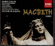 VERDI - MACBETH - VICTOR DE SABATA - MARIA CALLAS -  MINT 2 CD BOX SET
