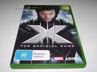 X Men The Official Game Xbox Original PAL Preloved *Complete*