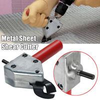 Pro Metal Sheet Nibbler Saw Shear Cutter Electric Drill Scissors Sheet Tool