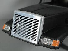 Custom Aluminum Front Grill Mesh Cover for Tamiya 1/14 RC Toy Knight Hauler Semi
