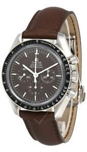 OMEGA Speedmaster Moonwatch Brown Dial 42MM LTHR Men's Watch 311.32.42.30.13.001