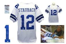 Roger Staubach Autographed SIGNED Jersey - JSA Witnessed Authenticated - White