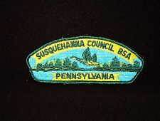 BOY SCOUT  SUSQUEHANNA  COUNCIL  S3A