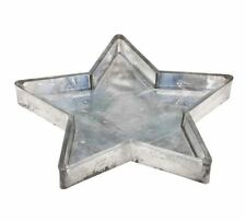 Pottery Barn NEW MERCURY GLASS STAR TRAY -  SOLD OUT!