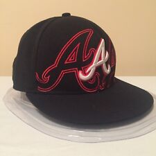 """MLB Atlanta Braves 7 1/2"""" (59.6 cm) 59FIFTY WOOL Fitted Cap by New Era"""